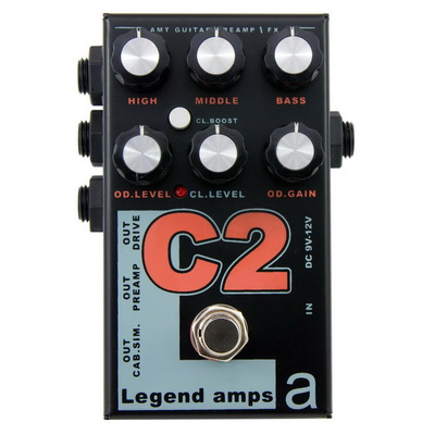 Обзор предусилителя AMT Electronics C2 - Legend Amps 2