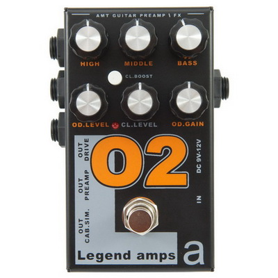 Обзор предусилителя AMT Electronics O2 - Legend Amps 2