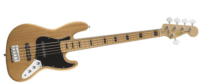 Обзор бас гитары Squier By Fender Vintage Modified Jazz Bass V
