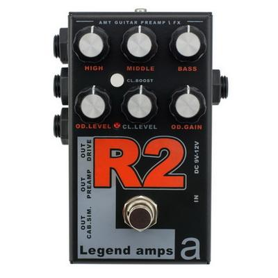 Обзор предусилителя AMT Electronics R2  - Legend Amps 2  формирует звук усилителей серии Rectifier фирмы Mesa Boogie