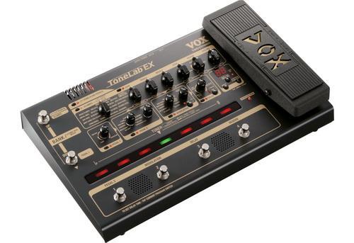 Обзор гитарного процессора эффектов VOX ToneLab EX - отличный гитарный процессор для рок и хард рок музыки